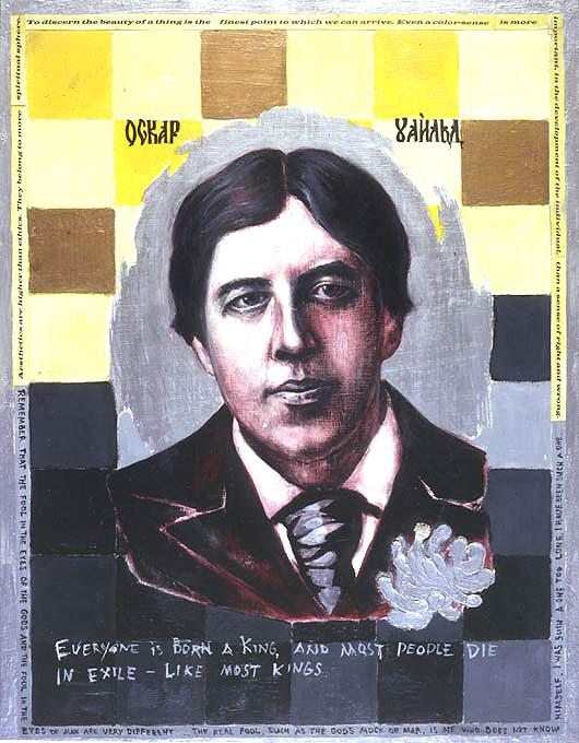 Oscar Wilde by Lena Hades