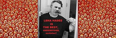Nietzsche, Also sprach Zarathustra. (nach  F. Nietzsche). Oel auf Leinwand, Thus spake Zarathustra by Lena Hades