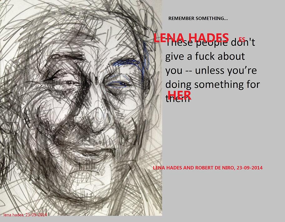 Robert de Niro, by Lena Hades