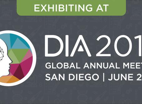 Visit us at DIA 2019!