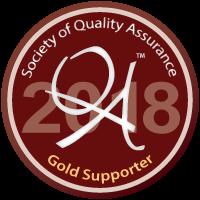Gold Sponsor Badge for SQA 2018 Conference