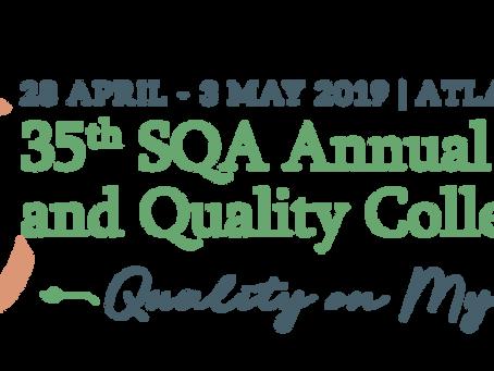 Attending SQA 2019?