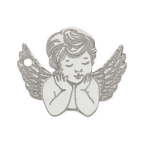 AG3070 MI HISTORIA - ABALORIO ANGEL PLATA 925MM