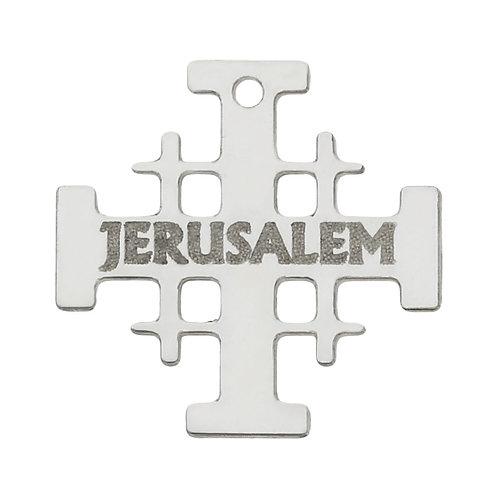 AG3072 MI HISTORIA - ABALORIO JERUSALEM PLATA 925MM