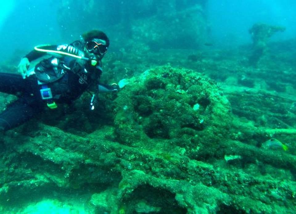 Explore a doomed shipwreck near Visakhap