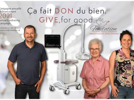 La 27e campagne annuelle de financement« Ça fait DON du bien » est lancée!