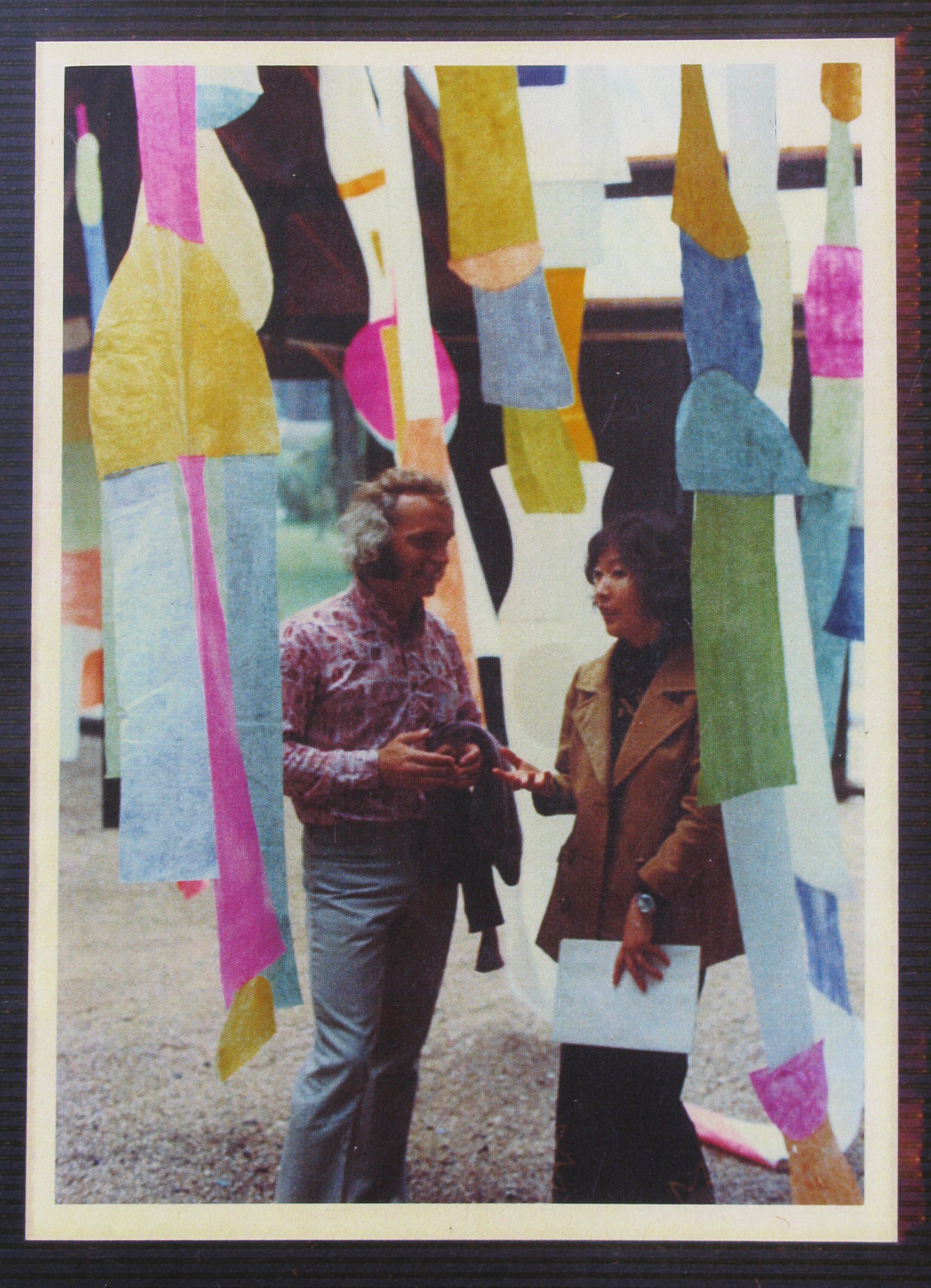 s First Installation show in Paris 1973-2
