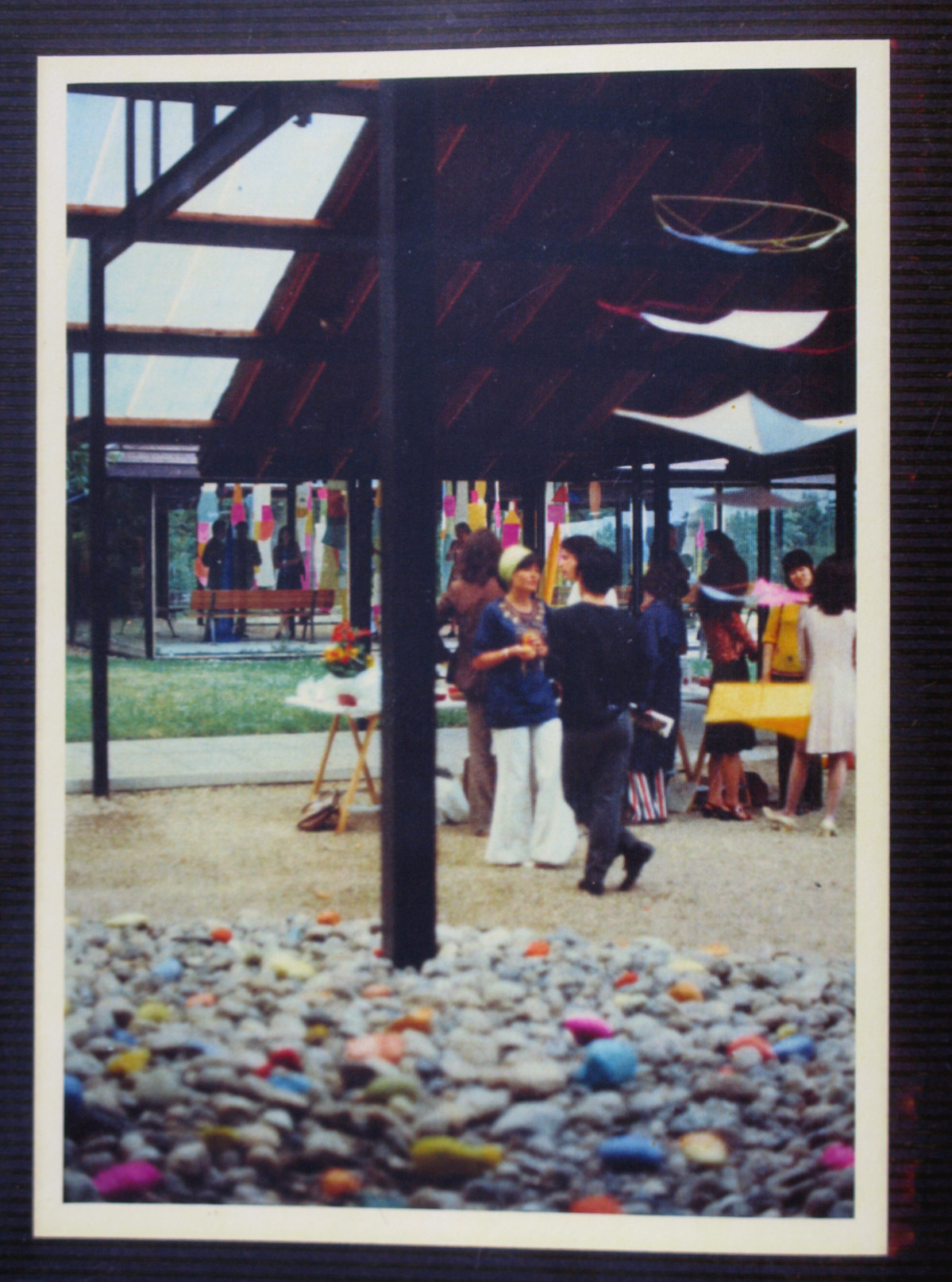 s First Installation show in Paris 1973-5