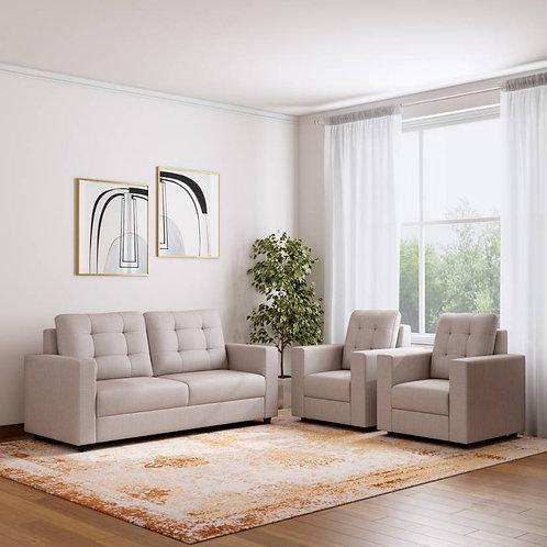 Corduroy - 5 Seater Sofa (Cream)