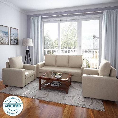 Trisete - 5 Seater Sofa (Cream)