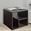 Thumbnail: Abel Bedside Table In Wenge Finish