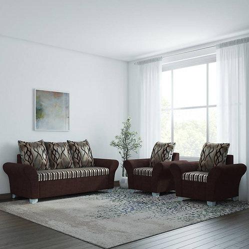 Greece - 5 Seater Sofa (Brown)
