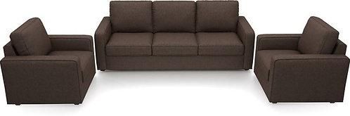 Gisel - 5 Seater Sofa (Brown)