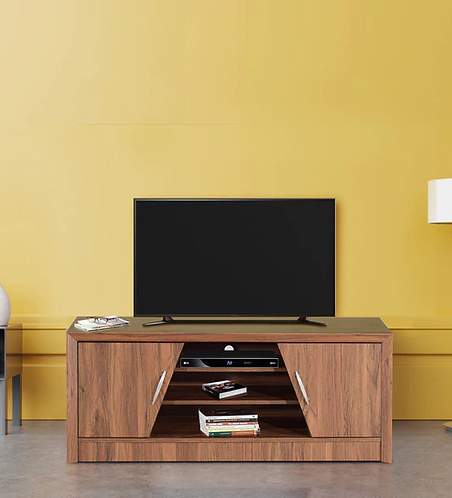Yuko TV Unit in Columbia Walnut Finish
