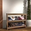 Thumbnail: Volga Shoe Rack in Sonoma Oak Finish