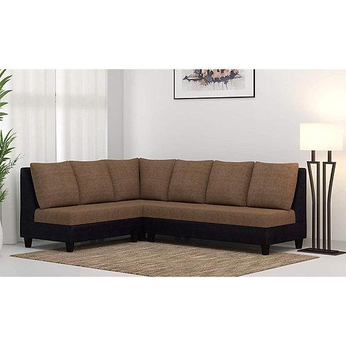 Casa Nancy - Sectional Sofa In Brown Cream