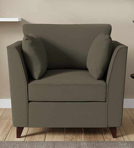 Roca 1 Seater Sofa In Sandy Brown