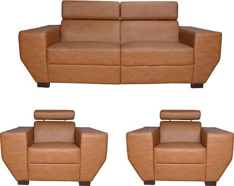 Stack  - 5 Seater Sofa (Brown)