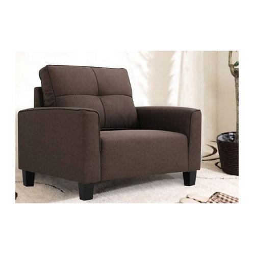 Altamount One seater Sofa - (Dark Brown)