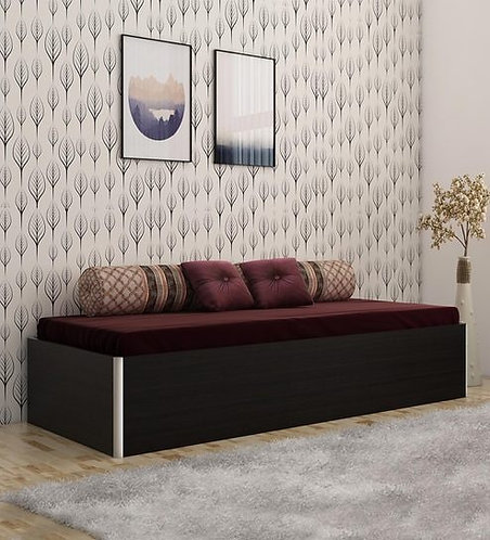 Dosmo Single Bed with Storage in Black Colour