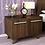 Thumbnail: Furorida Cabinet cum Bedside Table in Dark Brown Finish