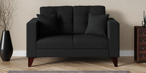 Sunrise - 2 Seater Sofa In Charcoal Grey