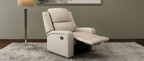 Jameson - 1 Seater Manual Recliner In Grey