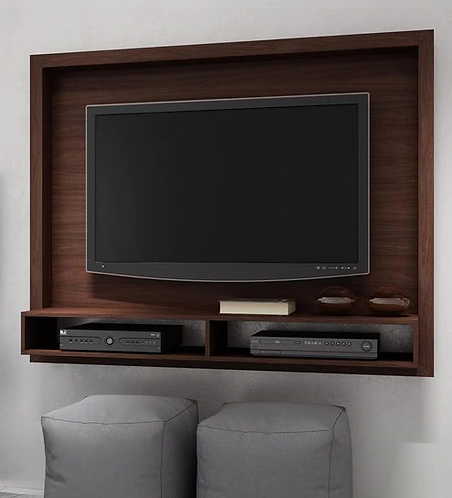 Yasuo TV Unit in Nut Brown Finish