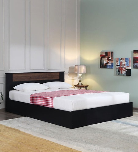 Takai Queen Size Bed in Wenge Finish