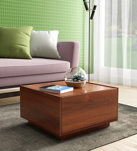 Kanon Coffee Table in Walnut Finish