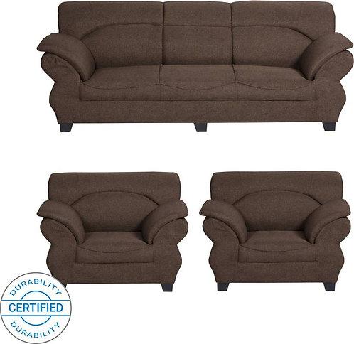 Armadillo - 5 Seater Sofa (Brown)