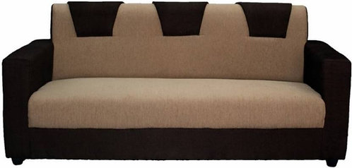 Zest - 3 Seater Sofa (Brown)