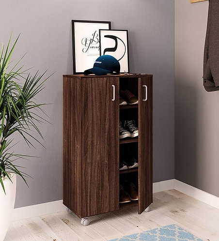 Hiroto Shoe Rack in Brown Colour