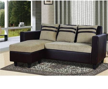 Baron - 3+1 Sofa (Cream & Brown)