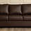 Thumbnail: Sato - 3 Seater sofa in Brown Leatherette