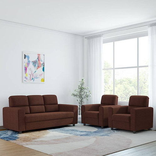 Mini Comfort - 5 Seater Sofa (Brown)