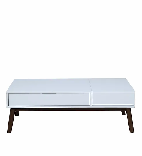 Alazne Coffee Table in White Finish