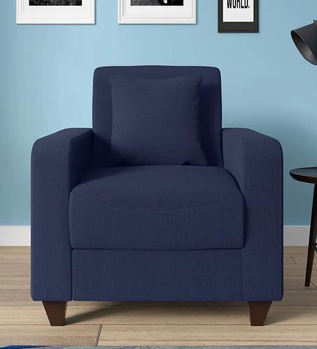 Jenny 1 Seater Sofa In Navy Blue