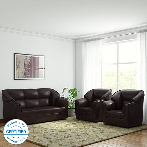 Manhattan - 5 Seater Sofa (Brown)