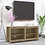 Thumbnail: Ayame TV Unit in Clay Brown Finish
