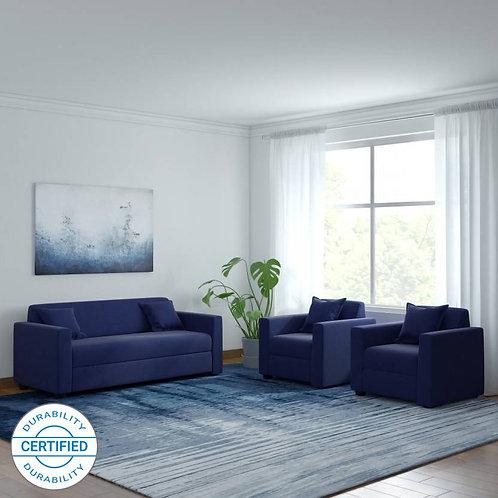 Torea - 5 Seater Sofa (Blue)