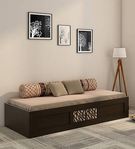 Elegant Single Bed in Vermont Melamine Finish