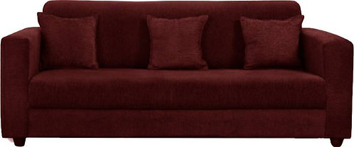 Beaver - 3 Seater Sofa  (Maroon)