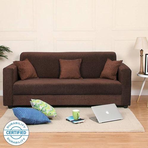 Westar - 3 Seater Sofa (Brown)