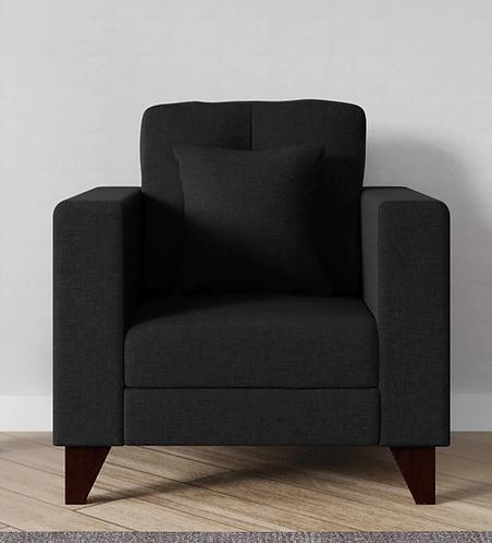 Alfi 1 Seater Sofa In Charcoal Grey
