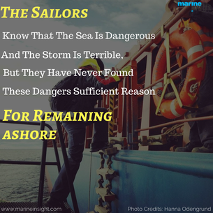 The Sailors know...