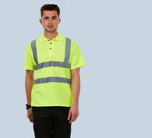 Uneek Hi-Viz Polo Shirt