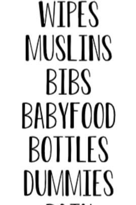 Baby Label Bundle