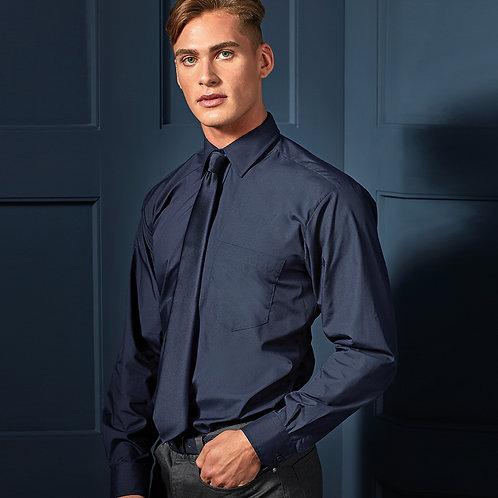 Premier Long Sleeve Poplin Shirt