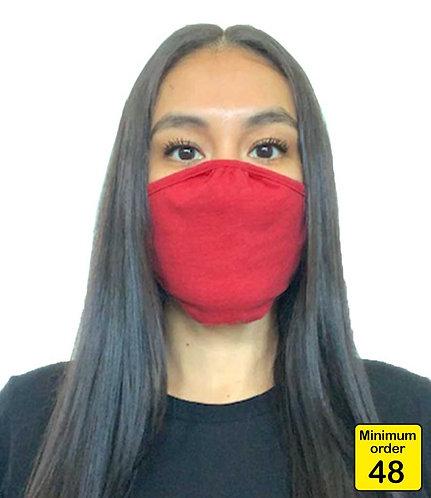 (Personalised) Next Level Eco Performance Face Mask (48 Pack)
